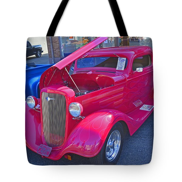 Tote Bag featuring the photograph 1934 Chevy Coupe by Tikvah's Hope