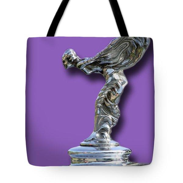 1934 Rolls Royce Spirit Mascot Tote Bag by Jack Pumphrey