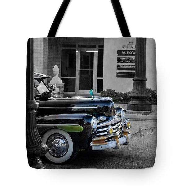 1940s Ford Out Of The Past Tote Bag