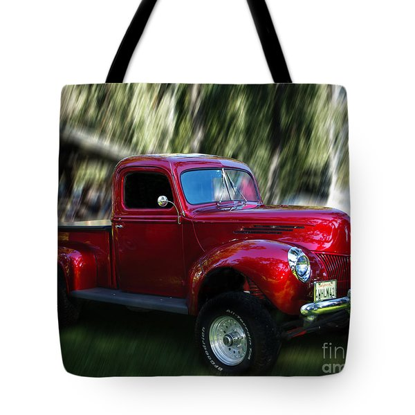 1941 Ford Truck Tote Bag by Peter Piatt