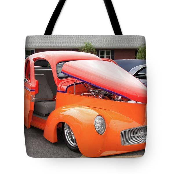 1941 Willys Coupe 7774 Tote Bag by Guy Whiteley