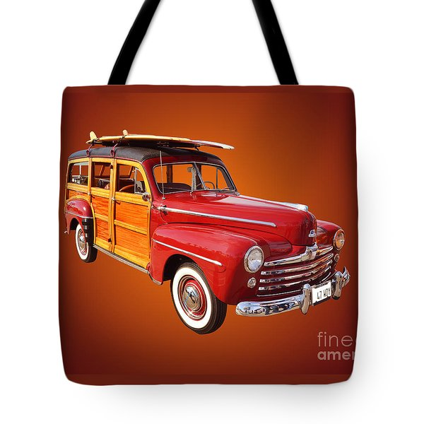 1947 Woody Tote Bag