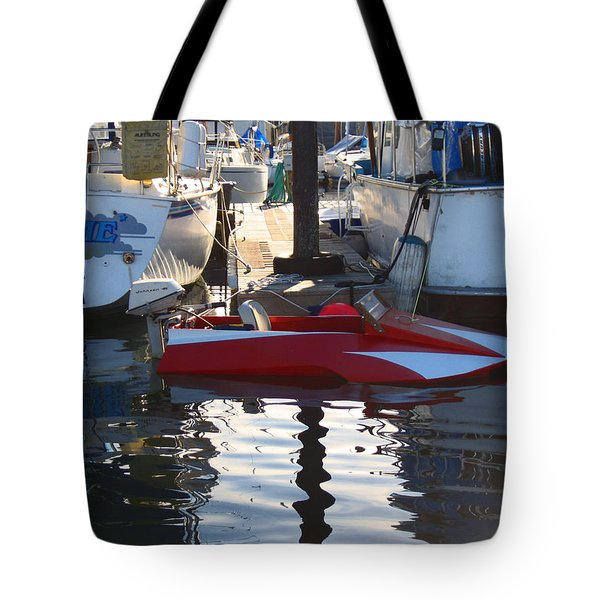 1950's Custom Hydroplane Tote Bag by Kym Backland