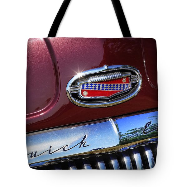 Tote Bag featuring the photograph 1951 Buick Eight by Gordon Dean II