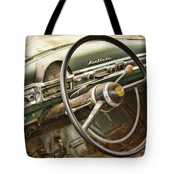 1951 Nash Ambassador Interior Tote Bag by James BO  Insogna
