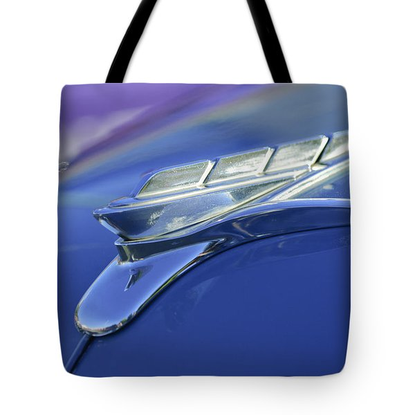 1951 Plymouth Hood Ornament Tote Bag by Jill Reger