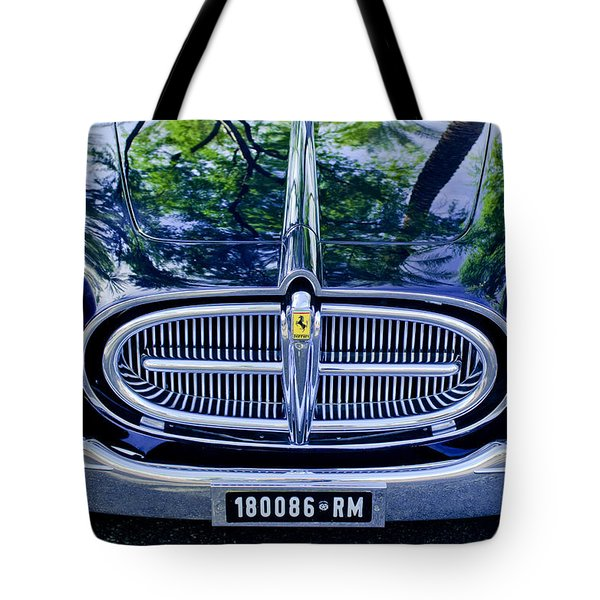 1952 Ferrari 212 Vignale Front End Tote Bag by Jill Reger