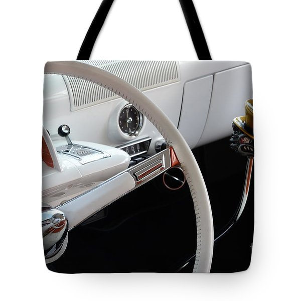 1952 Mercury Interior Tote Bag by Bob Christopher