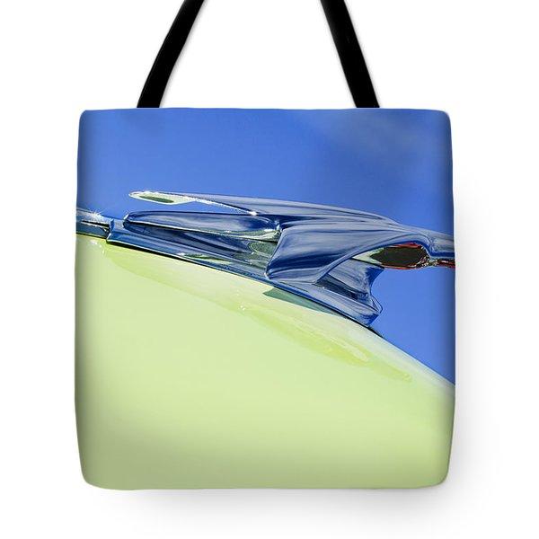 1953 Chevrolet Pickup Hood Ornament Tote Bag by Jill Reger