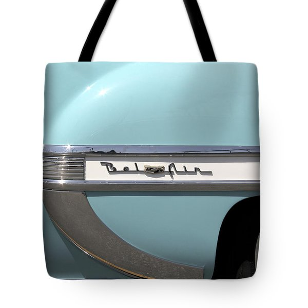 1954 Chevy Belair Tote Bag by Mike McGlothlen