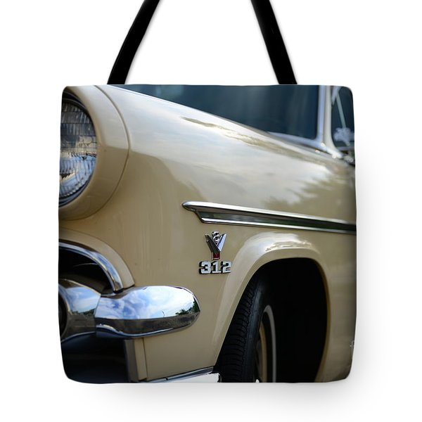 1954 Ford Customline Front End Tote Bag by Paul Ward