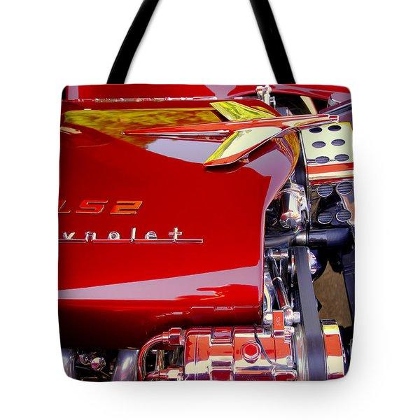 1955 Chevy Bel Air Custom Tote Bag