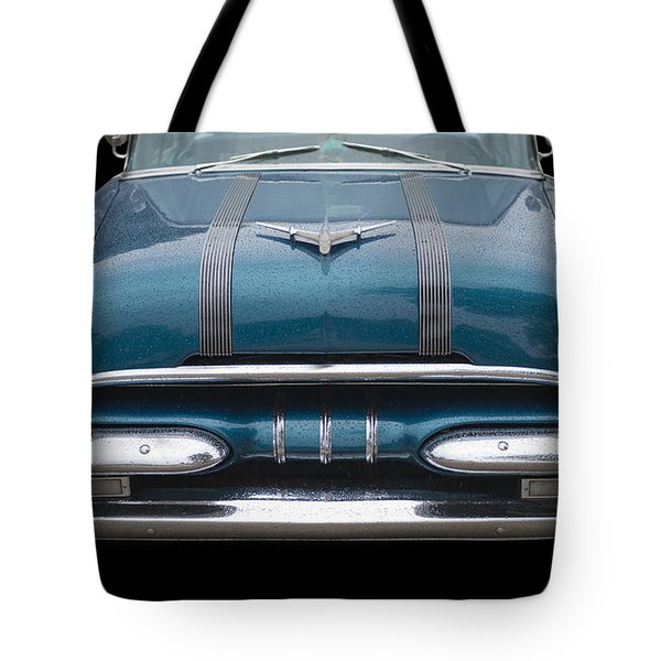 1955 Pontiac Star Chief Front Tote Bag by Betty LaRue