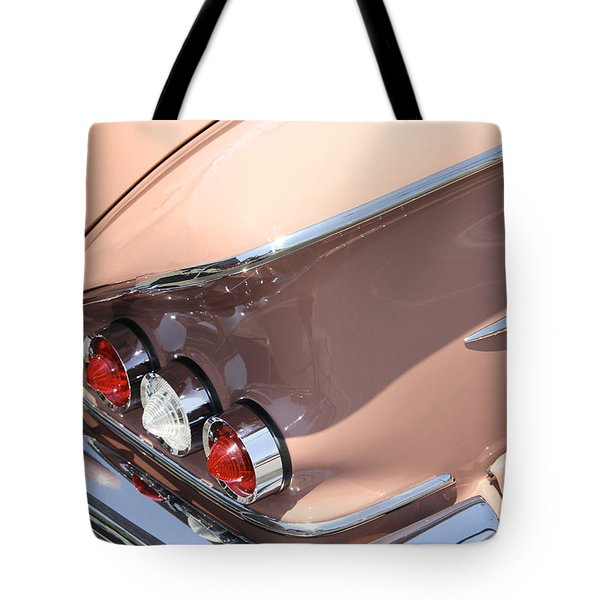 1958 Chevrolet Tote Bag by Mike McGlothlen