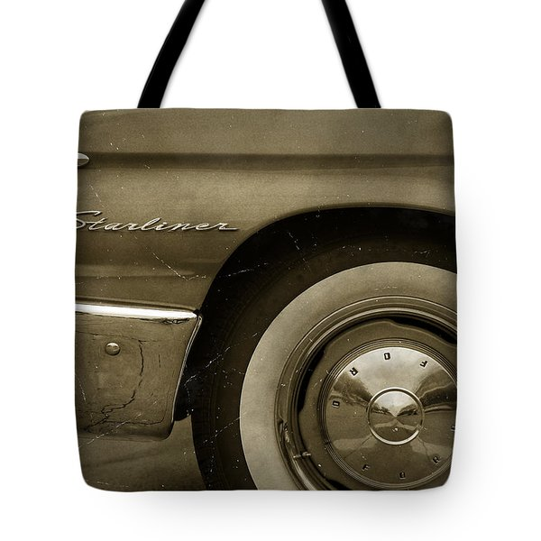 1961 Ford Starliner Tote Bag by Gordon Dean II