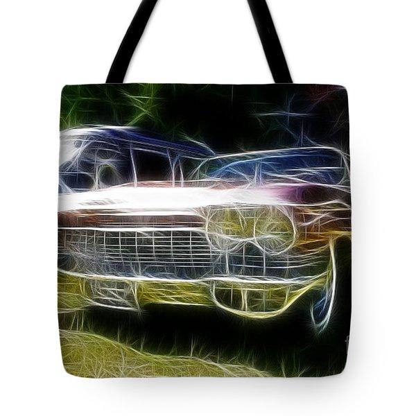 1962 Caddy Cadillac Tote Bag by Paul Ward