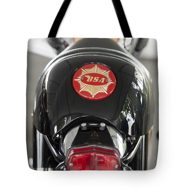 1966 Bsa 650 A-65 Spitfire Lightning Clubman Motorcycle Tote Bag by Jill Reger