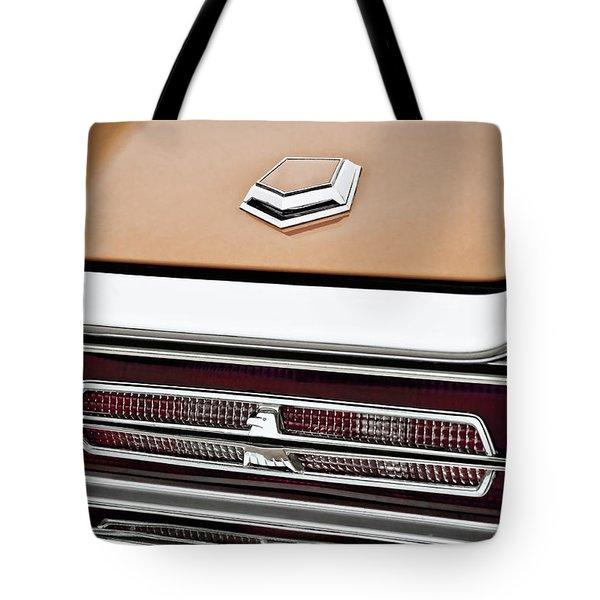 1966 Ford Thunderbird Tote Bag by Gordon Dean II