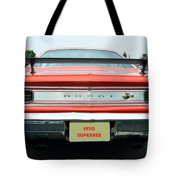 1970 Dodge Coronet Super Bee Tote Bag by Paul Ward