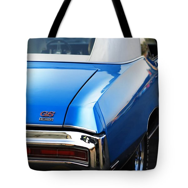 Tote Bag featuring the photograph 1971 Buick Gs by Gordon Dean II