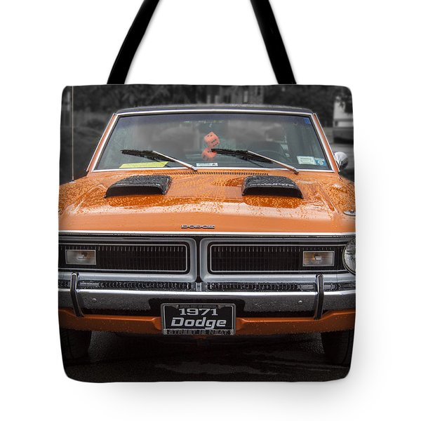 1971 Dodge Classic Tote Bag by Darleen Stry