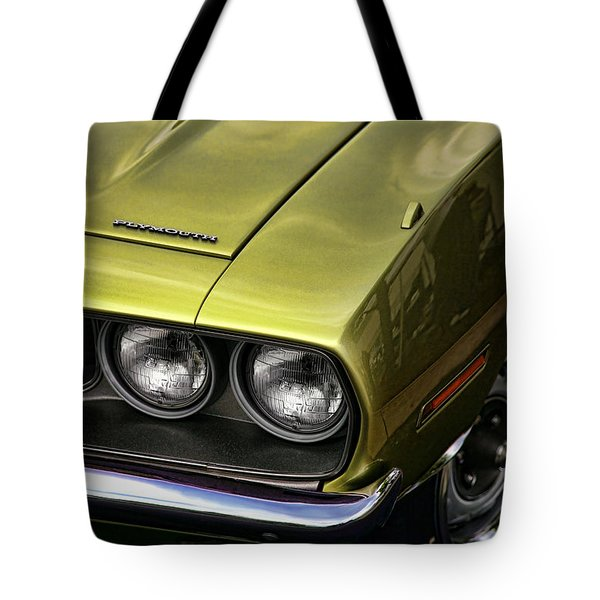 1971 Plymouth Barracuda 360 Tote Bag by Gordon Dean II