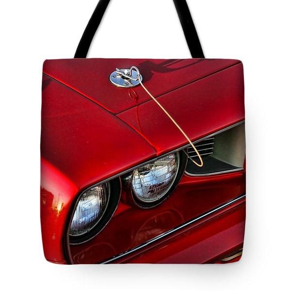 1971 Plymouth Hemi 'cuda Tote Bag by Gordon Dean II