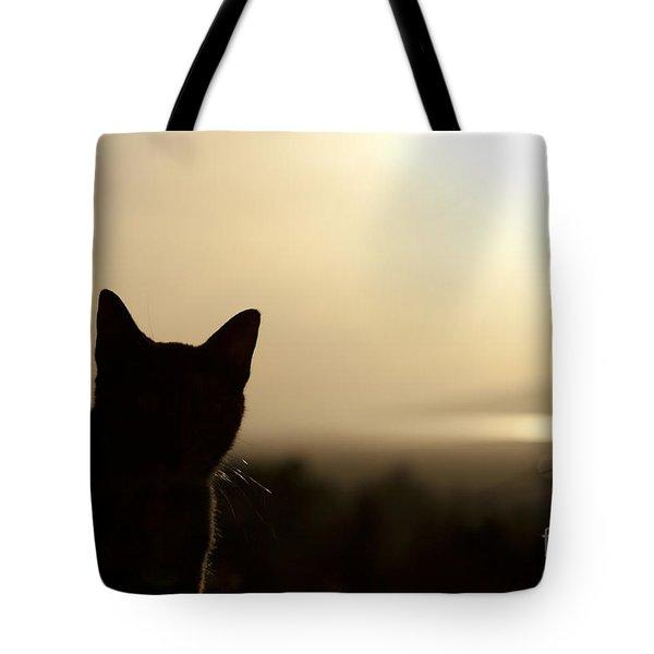A Pure Soul Tote Bag by Sharon Mau