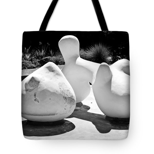Tote Bag featuring the sculpture Abstract  American  Art by Yurix Sardinelly
