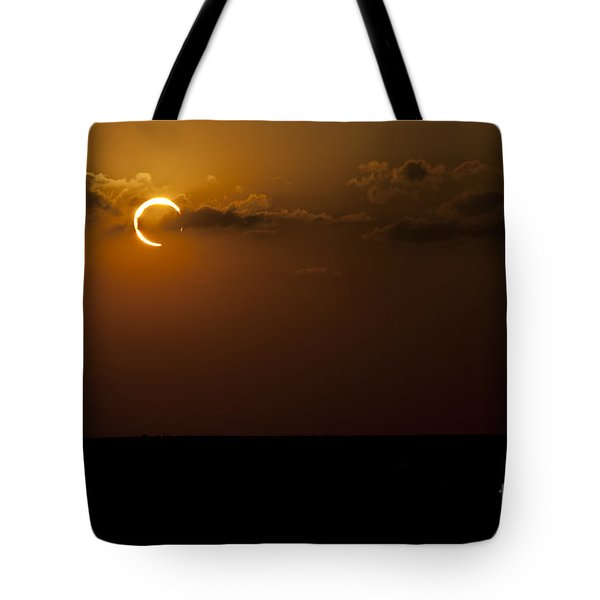 Annular Solar Eclipse Tote Bag by Phillip Jones