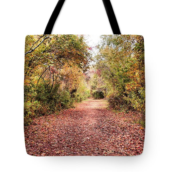 Autumn Trail Tote Bag by Rick Friedle
