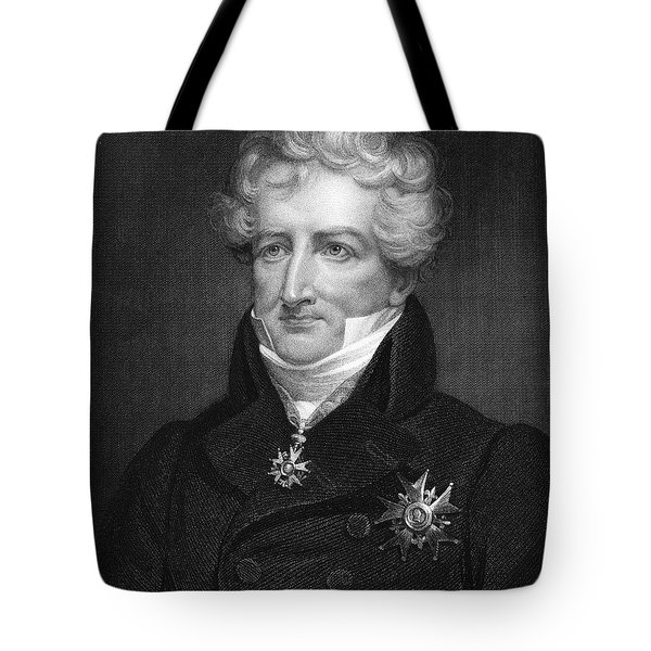 Baron Georges Cuvier Tote Bag by Granger
