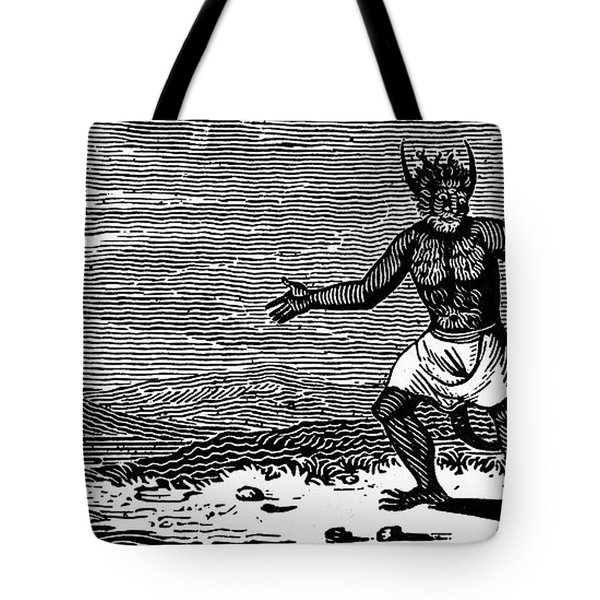 Bewick: Devil Tote Bag by Granger