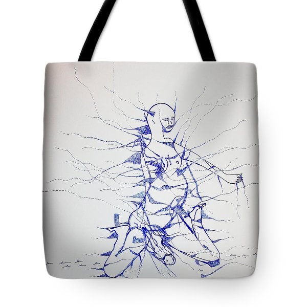 Birth Tote Bag by Gloria Ssali