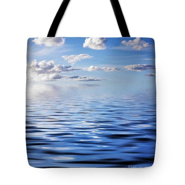Blue Sky Tote Bag by Kati Molin