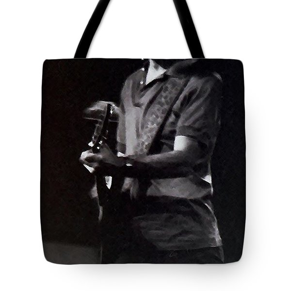Tote Bag featuring the photograph Bob Weir Of The Grateful Dead by Susan Carella
