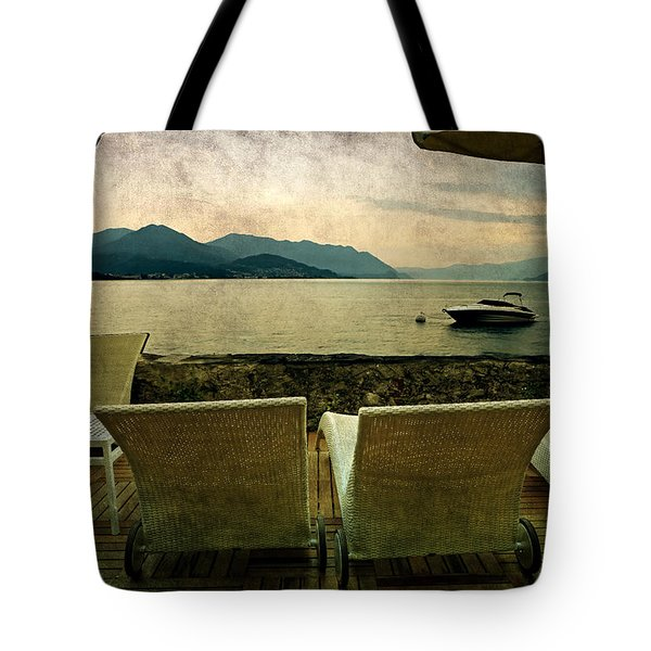 Canvas Chairs Tote Bag by Joana Kruse