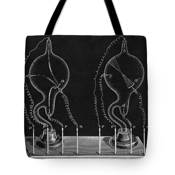Cathode Ray Tubes Tote Bag by Science Source