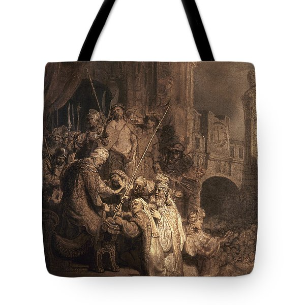 Christ Before Pilate Tote Bag by Granger