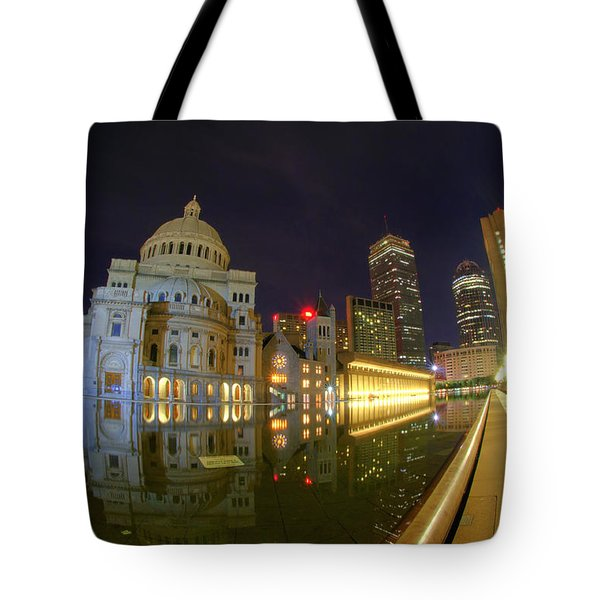 Christian Science Center-boston Tote Bag by Joann Vitali