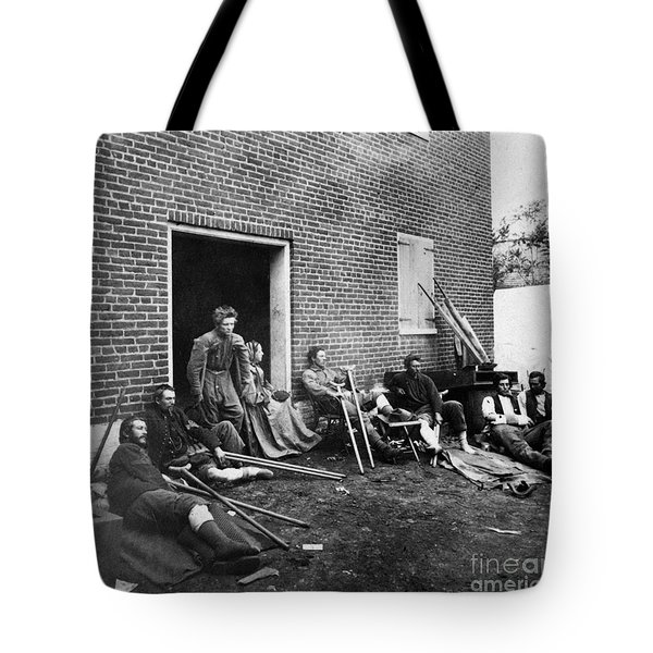 Civil War: Wounded, 1864 Tote Bag by Granger