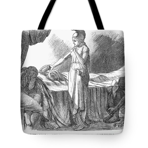 Death Of Lincoln, 1865 Tote Bag by Granger