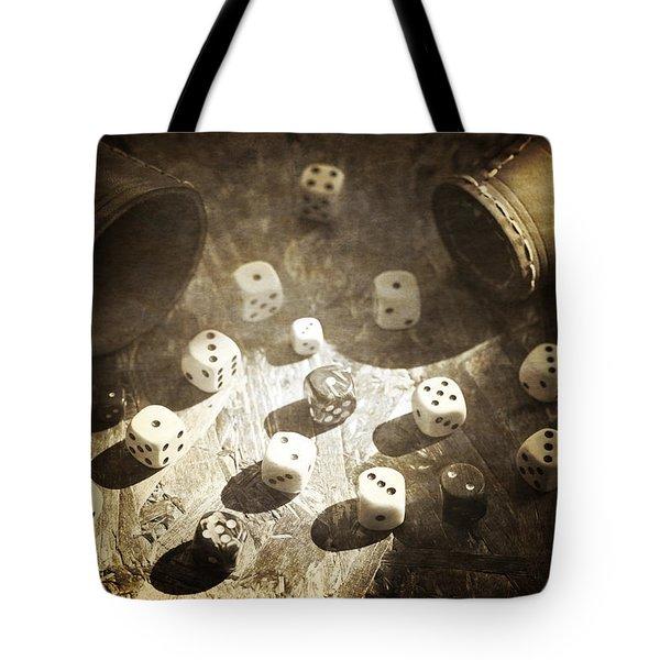 Dice Tote Bag by Joana Kruse