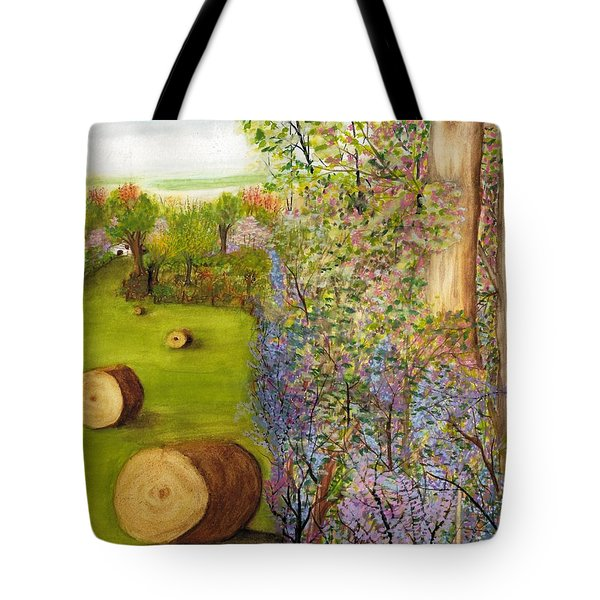Dogwoods And Redbuds Tote Bag