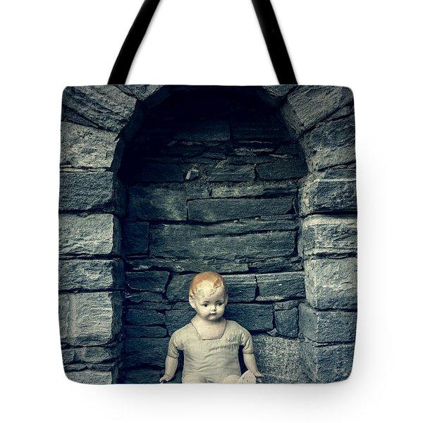 Doll Tote Bag by Joana Kruse