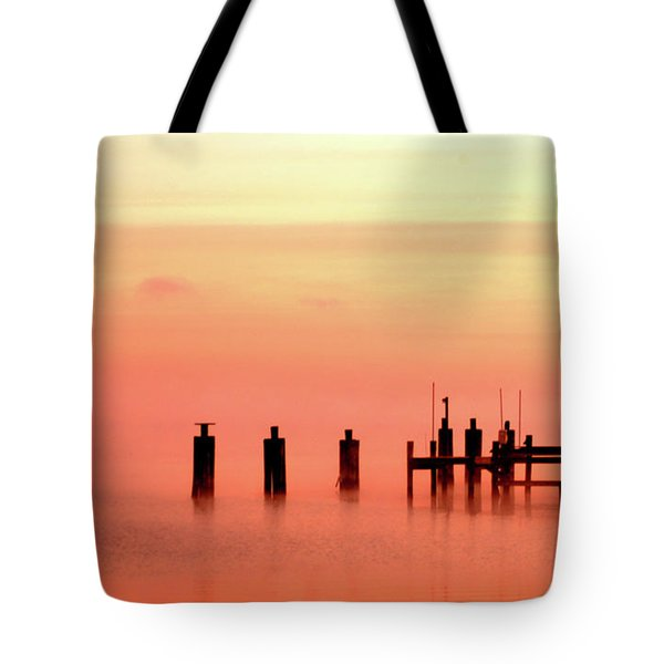 Tote Bag featuring the photograph Eery Morn by Clayton Bruster