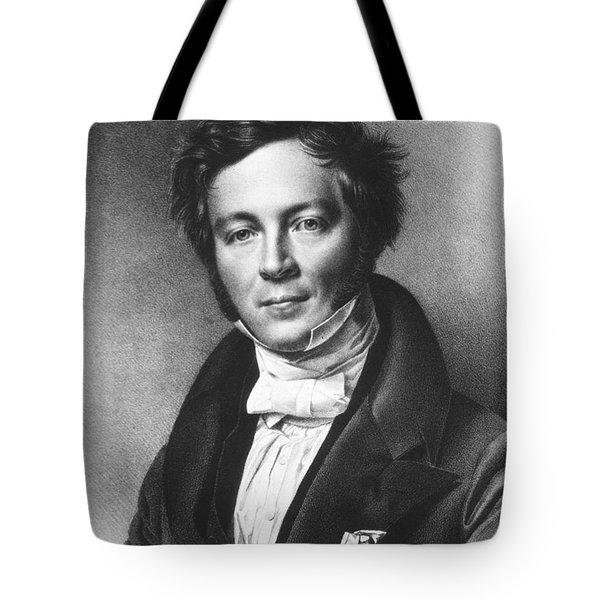 Eilhard Mitscherlich, German Chemist Tote Bag by Science Source