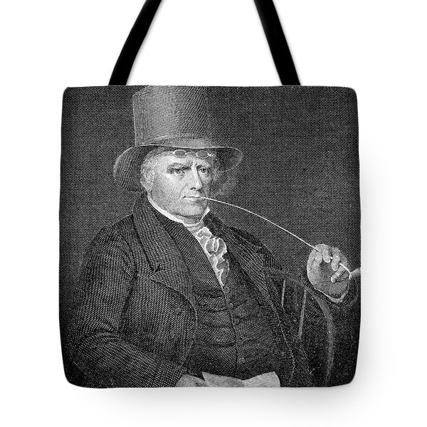 Elkanah Watson (1758-1842) Tote Bag by Granger