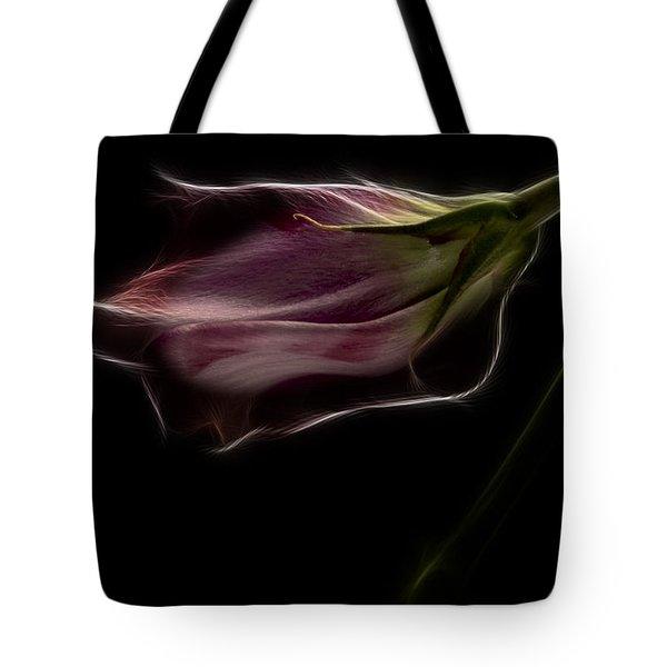 Flower Tote Bag by Stelios Kleanthous
