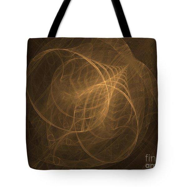 Fractal Image Tote Bag by Ted Kinsman